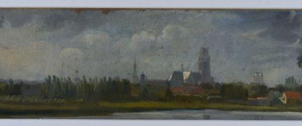 Rotterdam vanaf de Kippenbrug