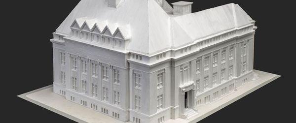 Model Gemeente-Bibliotheek aan de Nieuwemarkt te Rotterdam