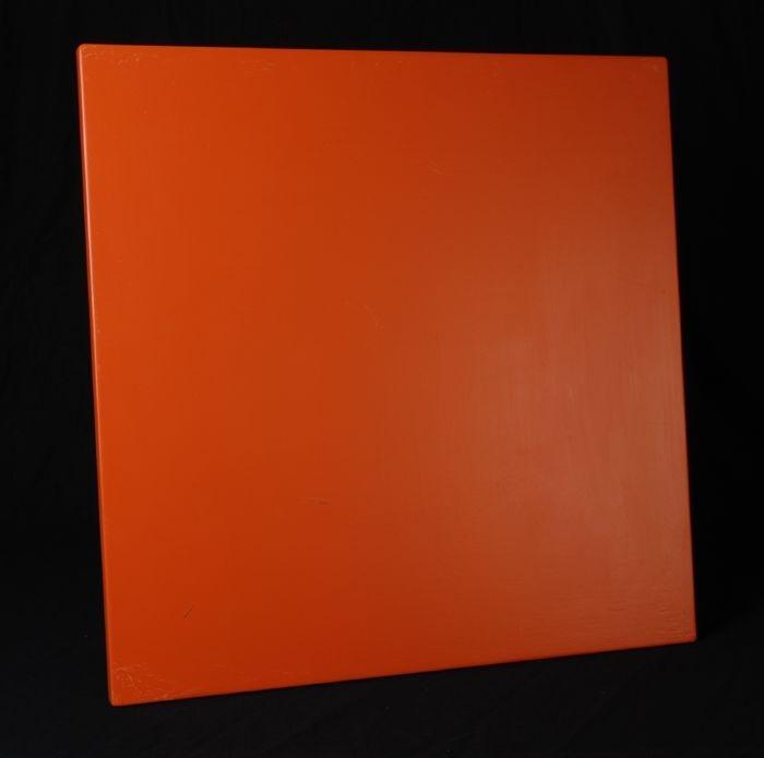 Inspiratiebron voor kleur nieuwe delftse poort plankje geverfd in stofzuiger oranje kleur - Kleur associatie ...